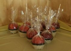 Pokemon Party - Pokeball Candy Apple to take home