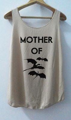 Mother Off Dagon Game Shirts Tank top Pop Punk Rock Tank Top Vest Women T shirt lady T-Shirt Size S,M,L