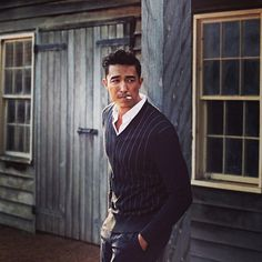 Daniel Henney in Harper's Bazaar in #Zegna