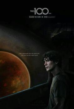 Bellamy Blake | The 100 season 5 poster | fb: The 100 HD