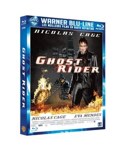Amazon.fr - Ghost Rider [Blu-ray] - Nicolas Cage, Eva Mendes, Peter Fonda, Wes Bentley, Sam Elliott, Donal Logue, Mark Steven Johnson : DVD & Blu-ray