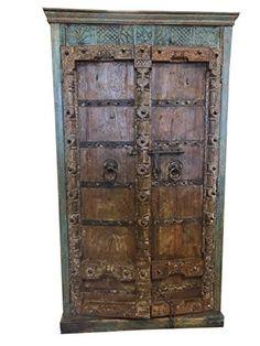 Mogulinterior Antique Almirah Old Doors Rustic Furniture ... https://www.amazon.com/dp/B071XM16FM/ref=cm_sw_r_pi_dp_x_-Zxrzb64VN9KF