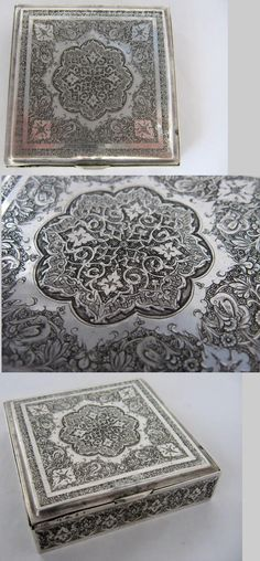 Persian silver crafts