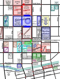 Reno Nevada S Map Downtown Top Home Maps Info Main Page 1 Places I D Like To Go Pinterest