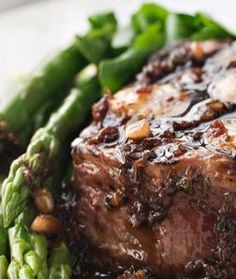 Classic Steak House Rubbed Filet Mignon