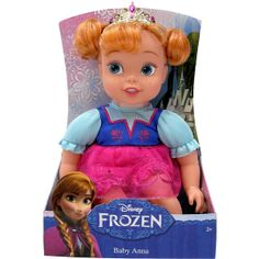 Disney Frozen Baby Doll Anna Tolly Tots (£7.76) found on Polyvore