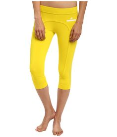 Found them!!  Of course, they are Stella McCartney!! adidas by Stella McCartney Run 3/4 Tight M34394 Canary Yellow - Zappos.com Free Shipping BOTH Ways