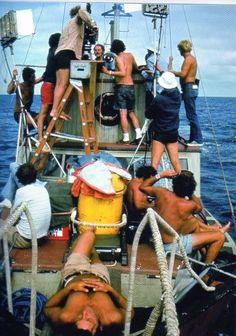 Jaws (1975) behind the scenes