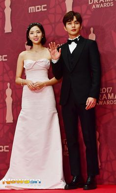 유승호.기사사진) 171230 MBC 연기대상 최우수상 유승호 : 네이버 블로그 Most Handsome Korean Actors, Yo Seung Ho, Bridesmaid Dresses, Wedding Dresses, Peplum Dress, Red Carpet, Awards, Asian, Chic