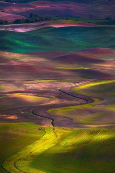 Colores y más colores de la tierra