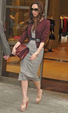 Victoria Beckham at The Miu Miu Store, New York Rocking Another Fab Look, 2012