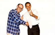 Terry Richardson and President Obama