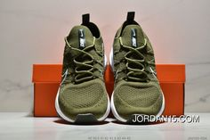 buy online e1d4f f6c31 Nike Air Max Flyknit JKD120-RDK Mens Running Shoes Casual Sneakers Army  Green Black Latest