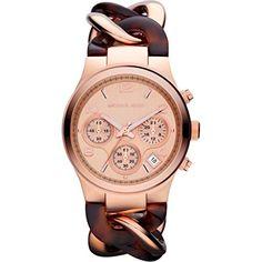 Michael Kors Watches Runway Twist Watch (Tortoise/Rose Gold) Michael Kors http://www.amazon.com/dp/B00B9YO2A0/ref=cm_sw_r_pi_dp_krtpvb00WPZ02