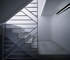 Gallery of Dear Jingumae Building / amano design office - 34 Staircase Handrail, Stair Railing, Staircase Design, Balustrade Design, Interior Stairs, Interior And Exterior, Interior Design, Architecture Details, Interior Architecture