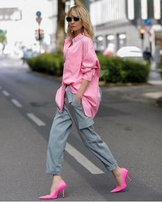 Street Style Outfits, Street Style Women, Casual Outfits, Fashion Outfits, Colourful Outfits, Colorful Fashion, Spring Summer Fashion, Spring Outfits, Color Combinations For Clothes