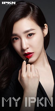 SNSD Tiffany's pretty promotional pictures for 'IPKN' Snsd Tiffany, Tiffany Hwang, Girls' Generation Tiffany, Girls Generation, Seulgi, Nayeon, Seohyun, Beautiful Girl Image, Girl Bands