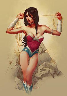Wonder Woman new 52 by *Takrezz on deviantART