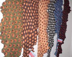 fashionably felt scarves by Feltmonolia