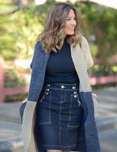 Mi aventura con la moda Falda vaquera