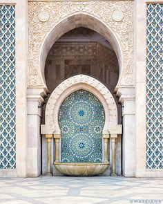 Visiting the Majestic Hassan II Mosque in Casablanca, Morocco [+Photos] Visit Morocco, Morocco Travel, Travel Around The World, Around The Worlds, Tours, Islamic Architecture, North Africa, Egypt, Travel Inspiration