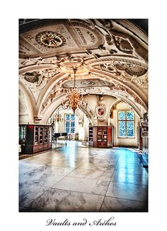 Bad Muskau, Germany interior | Bad Muskau - vaults and arches by calimer00