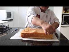 Como fazer Pão de Ló para Bolos de Aniversário - Sem Fermento - YouTube