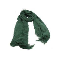 Pashmina em tecido lã acrilica verde liso largo. #pashmina #pashimina #modafeminina #fashion #scarf #scarfs