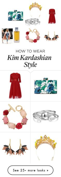 """Princess Jasmine"" by nadaanja on Polyvore featuring Dolce&Gabbana, Marni, Oscar de la Renta, Illuminum and Bling Jewelry"