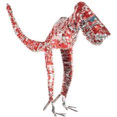Coke Can Dino