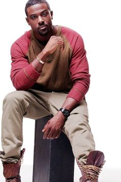 My crush of the day...Lance Gross...LAWD