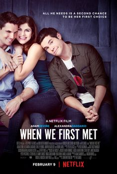 Return to the main poster page for When We First Met