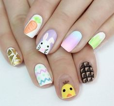 The best Easter nail art ideas - Photo 2