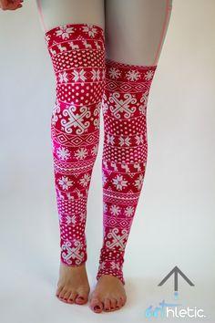 Berry Leg Warmers - Arthletic Wear - 1