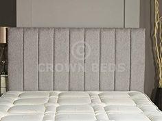 APOLLO CHENILLE HEADBOARD 2ft6,3ft,4ft,4ft6,5ft,6ft Various Colours (Light Grey, 4ft6 (Double)): Amazon.co.uk: Kitchen & Home
