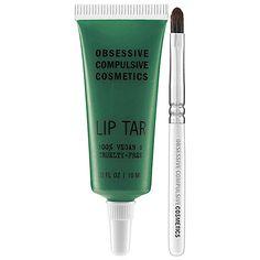 Obsessive Compulsive Cosmetics Lip Tar #Sephora #SephoraPantone #Emerald