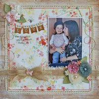 A Project by Maria Featon from our Scrapbooking Gallery originally submitted 11/06/13 at 03:55 PM