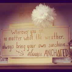 always anchored