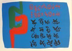 Walter Battiss / unframed work Walter Battiss, Prints For Sale, Neon Signs