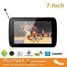 """7 inch digital TV tablet pc, isdb-t digital tv for brazil market"""