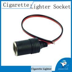 Auto Accessories Car Cigarette Lighter Socket Charger for Car Camera Car Refrigerator