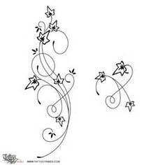 Free Ivy Tattoo Stencils - Bing images