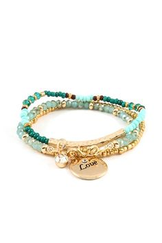 Check the way to make a special photo charms, and add it into your Pandora bracelets. 3 Piece Love Bracelet Set on Emma Stine Limited