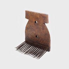Pieptăne pentru selectat fibre textile (lână sau cânepă), Transilvania, ultimul pătrar al sec. XIX