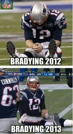 Brady's last 10 years...