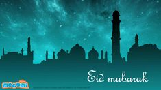 Eid Mubarak 04 - Download this #EidMubarak #wallpaperforkids, absolutely free. Also browse through our collection of other wallpapers set across a variety of themes. Desktop Wallpaper for kids  visit: http://mocomi.com/fun/wallpapers/