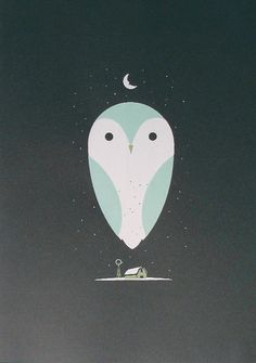 barn owl art print: a barn owl beaitfully rendered @ poster cabaret