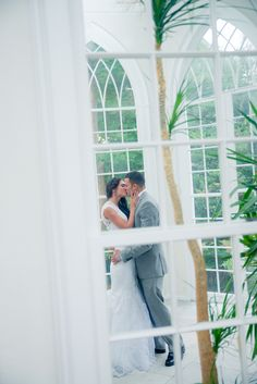 Real Weddings: Jennifer and Gabriel's Intimate Wedding at Linden Place Mansion