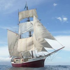 Brigantine JEAN DE LA LUNE (Participant TALL SHIPS RACE 2015)   Biographical Data:  JEAN DE LA LUNE was originally built in 1957 in Lorient as a French Motor Fishing Vessel.