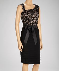 One part style, one part comfort, this fiercely fashionable frock lets a woman show off her best features and feel fabulous doing it.Measurements (size 16): 42'' long from high point of shoulder to hem97% polyester / 3% spandexHand wash; hang dryImported